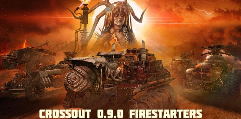 Llega una nueva facción a Crossout, los Firestarters