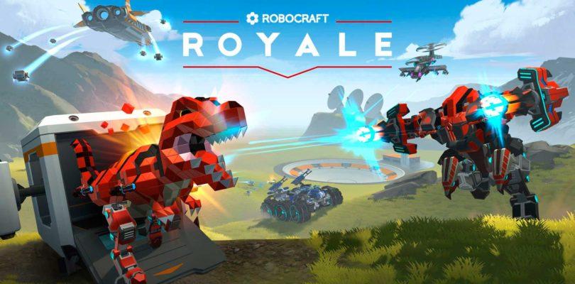 Robocraft Royale llegará a Steam este próximo 26 de marzo