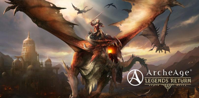 ArcheAge 4.5 llegará con dos nuevos servidores y ¡monturas dragón!