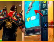 Fortnite presenta las máquinas expendedoras y una nueva forma de tiro