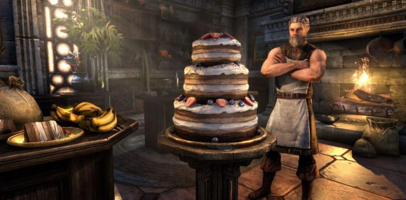 Celebra 4 años de Elder Scrolls Online con una tarta y más XP