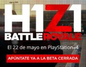 La beta abierta de H1Z1 ya está disponible en PlayStation 4