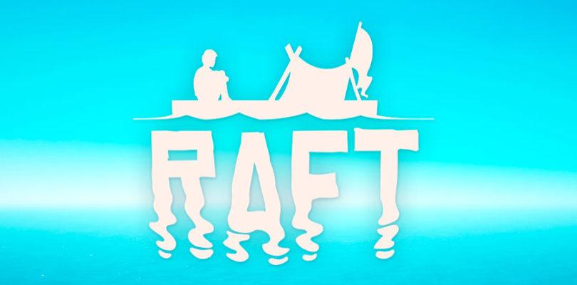 En RAFT tendrás que intentar sobrevivir en una balsa en mitad del océano