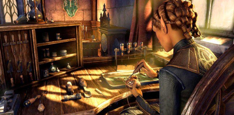 Detalles del nuevo sistema de crafteo de joyería en The Elder Scrolls Online