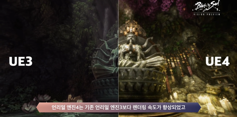 Blade & Soul KR muestra su primer video usando Unreal Engine 4