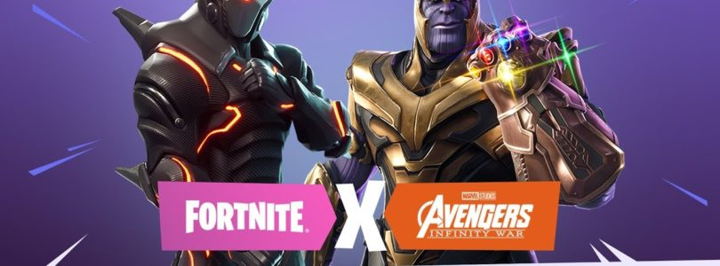 Ya disponible el evento de Fortnite BR junto a Avengers: Infinity War