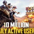 PUBG Mobile tiene 10 millones de jugadores diarios, sin contar China