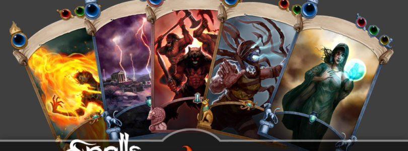 Rise of Titans, un juego de cartas coleccionables con tablero, anuncia su lanzamiento