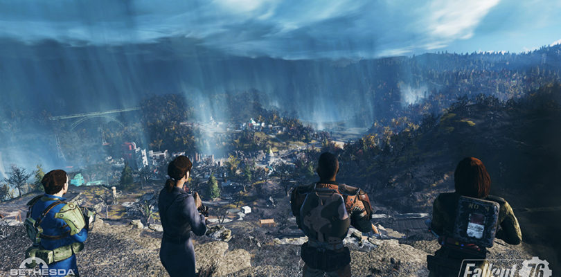 E3 2018 – Fallout 76 será online y tendrá cooperativo de cuatro jugadores