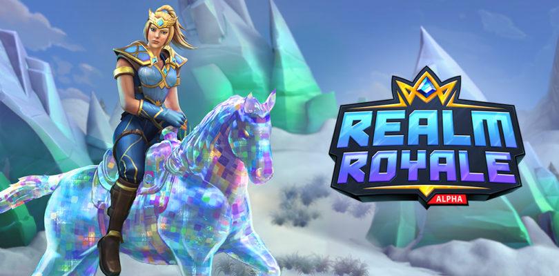 Realm Royale anuncia 3 millones de usuarios y un pack «alpha» con cosméticos