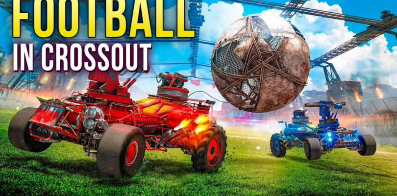 """Crossout se vuelve """"futbolero"""" con su nuevo modo de juego"""