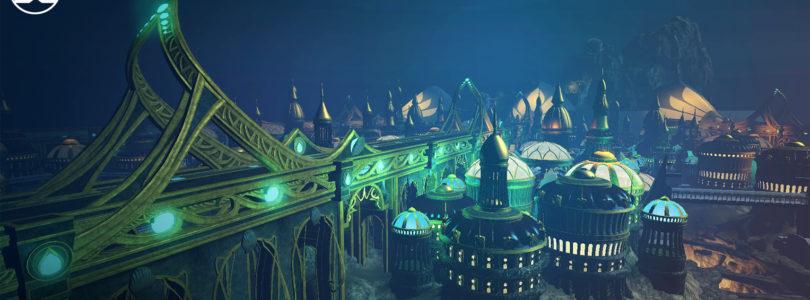 Aquaman llegará con el episodio Atlantis a DC Universe Online