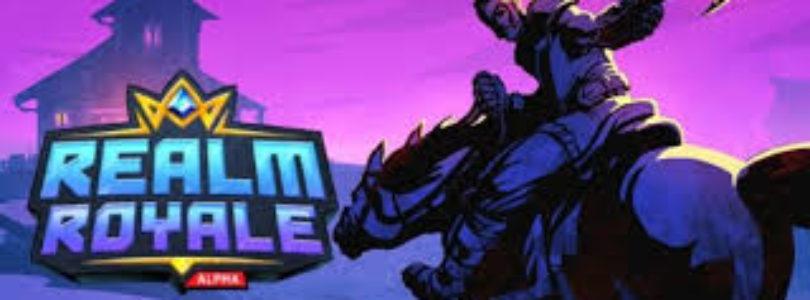 La próxima semana beta de Realm Royale en consolas