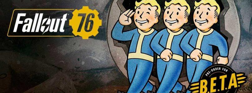 Fallout 76 no saldrá en Steam y el progreso de la beta no se borrará