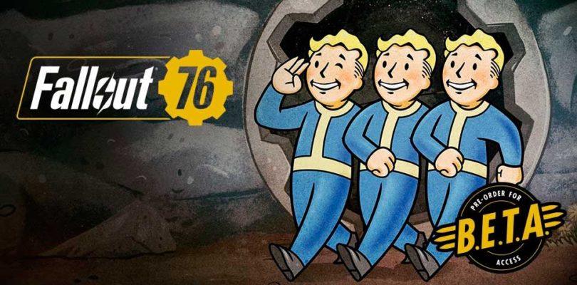 La B.E.T.A. de Fallout 76 no llegará hasta octubre