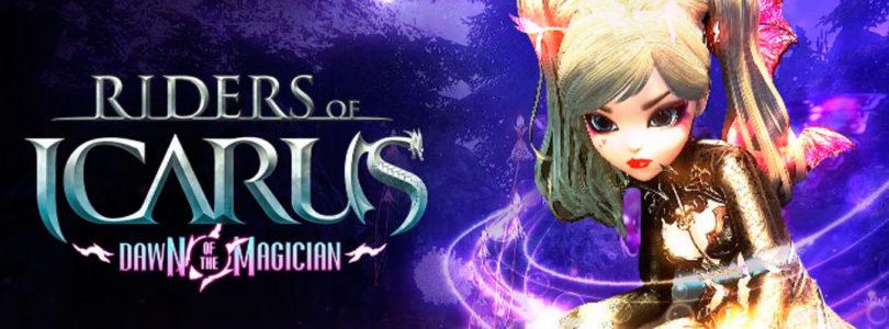 El Magician es la nueva clase en llegar al MMORPG gratuito Raiders of Icarus