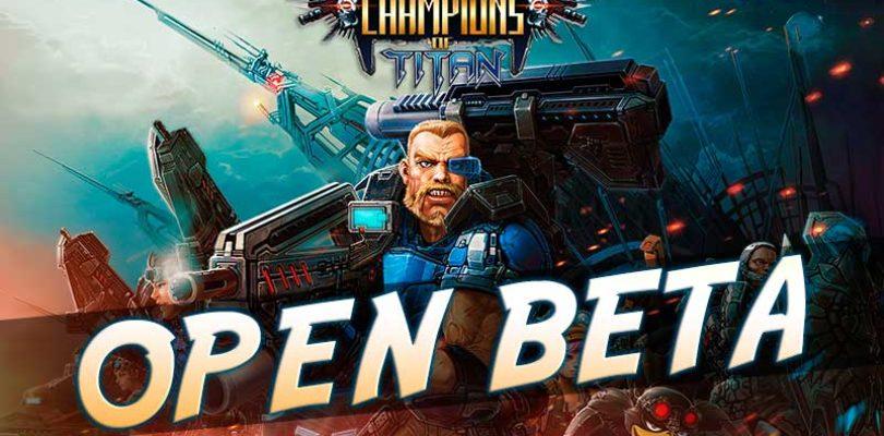 La beta abierta de Champions of Titan empezará el 11 de agosto