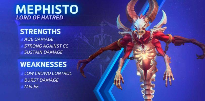 Gamescom 18 – Heroes of the Storm nos presenta a Mefisto y el renovado mapa de Hanamura