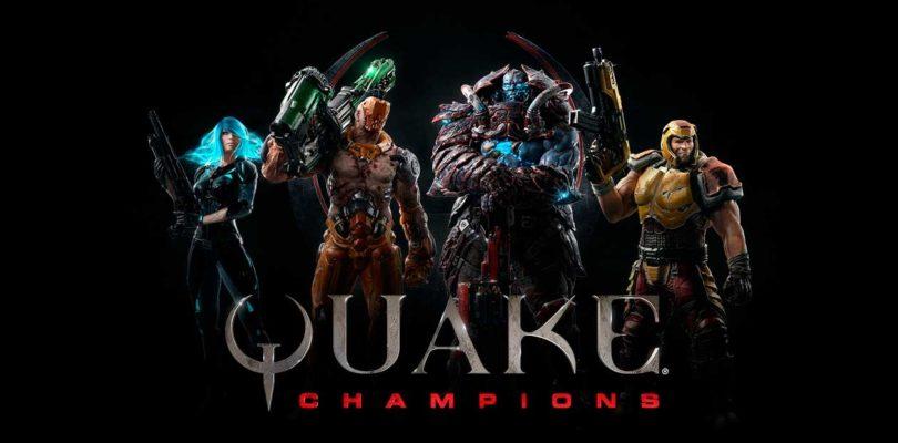 Quake Champions regalará a Athena a todos los jugadores