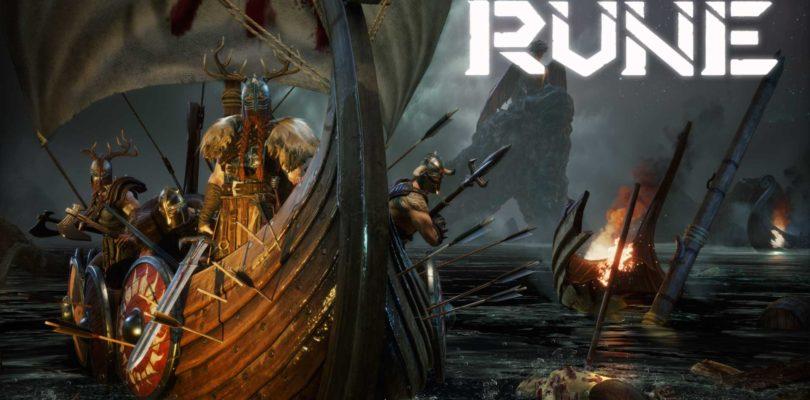 Rune es un RPG de mundo abierto, ambientación vikinga y ya tiene fecha de lanzamiento