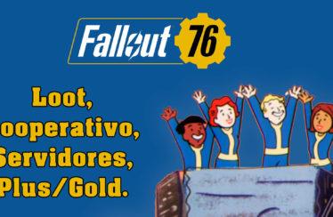 Fallout 76 – Funcionamiento del loot, Workshops, Servidores y PS Plus