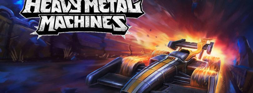 Repartimos regalos para el MOBA de coches Heavy Metal Machines