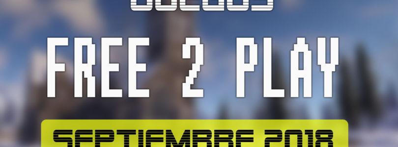 Lanzamientos Free-to-Play septiembre 2018