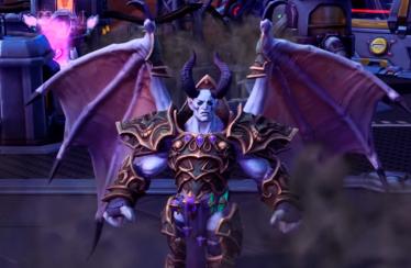 Presentado Mal'Ganis, el último héroe que llega al Nexo en Heroes of the Storm