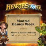 Hearthstone estará en la Madrid Games Week
