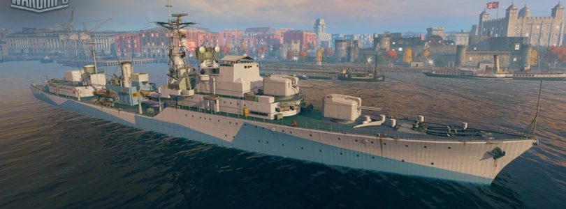 Halloween también llega a alta mar con World of Warships