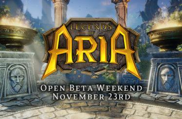 Fin de semana gratuito de Legends of Aria antes de su acceso anticipado