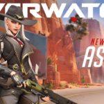 Ashe aterriza en los servidores oficiales de Overwatch