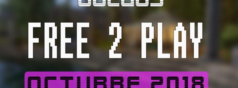 Lanzamientos Free-to-Play octubre 2018