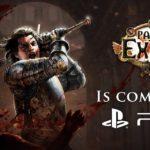 Path of Exile llegará a PlayStation 4 el 7 de diciembre
