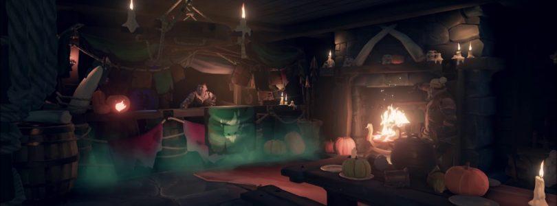 Llega nuevo contenido y maquillajes por Halloween a Sea of Thieves