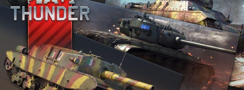 """War Thunder se actualiza con nuevos vehículos en """"Locked On!"""""""