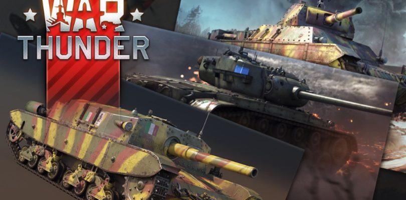 War Thunder se actualiza con nuevos vehículos en «Locked On!»