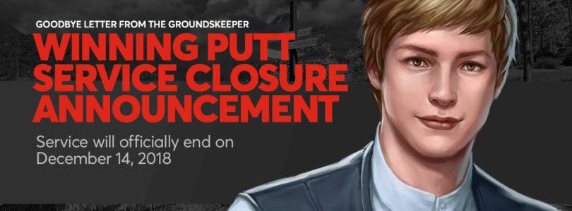 El MMO de golf Winning Putt echará el cierre en diciembre