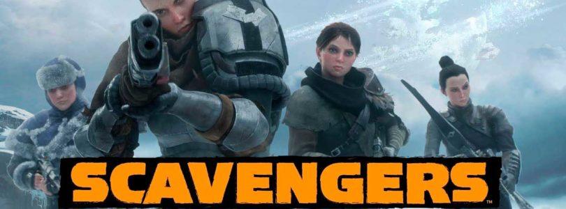 Scavengers busca mezclar supervivencia con juego cooperativo y competitivo