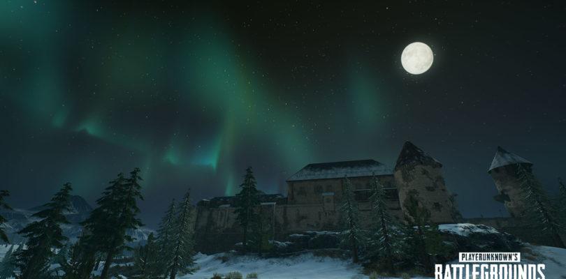 PlayerUnknown's Battlegrounds se actualiza con la aurora boreal