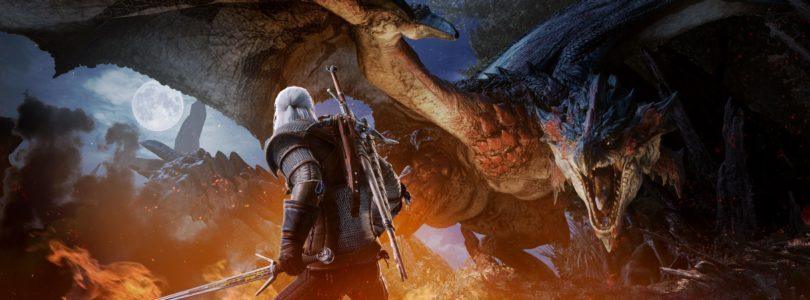 Geralt de Rivia llegará el 8 de febrero a Monster Hunter World en consola