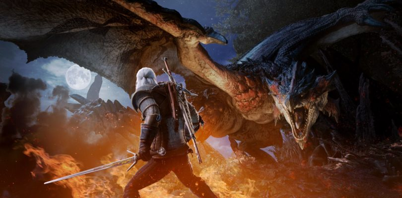 Geralt de Rivia llegará el 8 de febrero a Monster Hunter World en consola