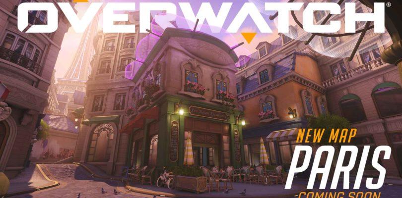 Overwatch lanza un nuevo mapa: París