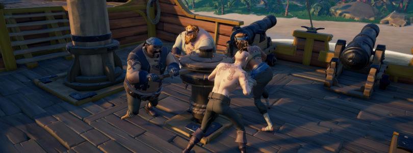Invita a tres amigos a jugar contigo esta semana en Sea of Thieves