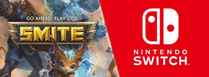 SMITE ya está disponible de forma gratuita en Nintendo Switch