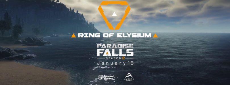 Ring of Elysium anuncia su segundo mapa y el comienzo de la segunda temporada para el 16 de enero