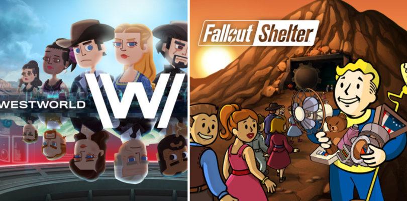 Bethesda y Behaviour Interactive llegan a un acuerdo por el lío entre Fallout Shelter y Westworld Mobile
