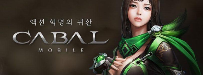 Cabal Mobile entrará en beta cerrada el 13 de marzo en Corea
