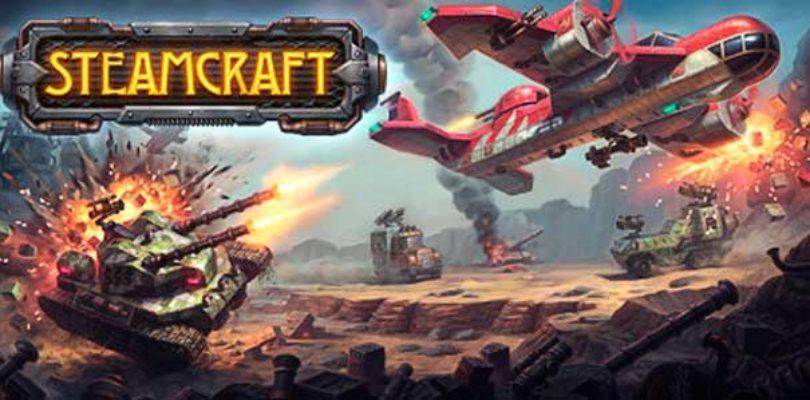 Construye tu coche y lucha contra otros en la beta abierta de SteamCraft