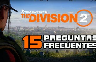 The Division 2 ya está disponible – 15 preguntas frecuentes antes de comprar